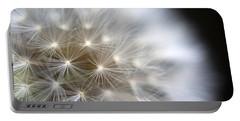 Dandelion Backlit Close Up Portable Battery Charger