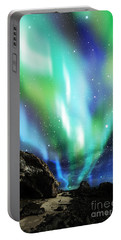 Dramatic Aurora Portable Battery Charger
