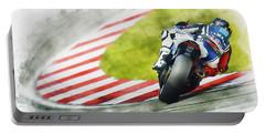 Jorge Lorenzo - Team Yamaha Racing Portable Battery Charger