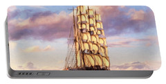 4 Mast Barque Portable Battery Charger