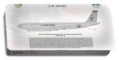 Northrop Grumman E-8c Jstars Portable Battery Charger by Arthur Eggers