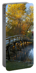 Old North Bridge Concord Portable Battery Charger by Brian Jannsen