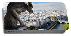 Paris Panorama France Portable Battery Charger