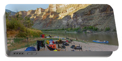 Rafting In Desolation And Gray Canyons Portable Battery Charger