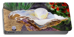 Sea Shell And Pearls Morning Light Portable Battery Charger