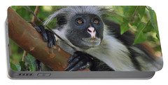 Zanzibar Red Colobus Monkey Portable Battery Charger
