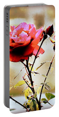 Portable Battery Charger featuring the photograph 40 Something by Faith Williams