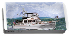 42 Foot Grand Banks Motoryacht Portable Battery Charger by Jack Pumphrey