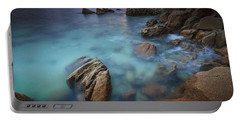 Portable Battery Charger featuring the photograph Chanteiro Beach Galicia Spain by Pablo Avanzini