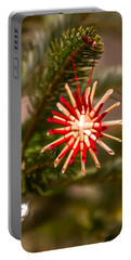 Portable Battery Charger featuring the photograph Christmas Tree Ornaments by Alex Grichenko