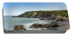 Cornish Seascape Gunwalloe Portable Battery Charger