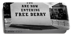 Free Derry Corner  Portable Battery Charger by Nina Ficur Feenan