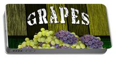 Grape Farm Portable Battery Charger