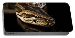 Portable Battery Charger featuring the photograph Snake by Gunnar Orn Arnason
