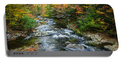 Stream Great Smoky Mountains Painted Portable Battery Charger