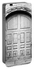 Wooden Door Portable Battery Charger