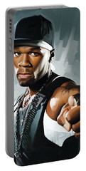 50 Cent Artwork 2 Portable Battery Charger