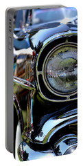 Portable Battery Charger featuring the photograph 50's Chevy by Dean Ferreira