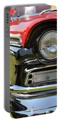 Portable Battery Charger featuring the photograph 50's Ford by Dean Ferreira