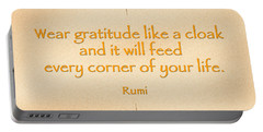 54- Rumi Portable Battery Charger by Joseph Keane
