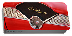 Portable Battery Charger featuring the photograph '56 Bel Air by Aaron Berg