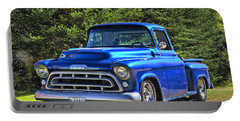 Portable Battery Charger featuring the photograph 57 Chevy by Alana Ranney