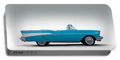 57 Chevy Convertible Portable Battery Charger