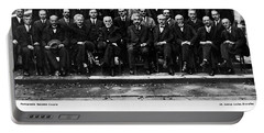 5th Solvay Conference Of 1927 Portable Battery Charger