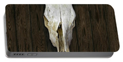 Cow Skull Portable Battery Charger