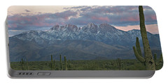 Four Peaks Sunset Snow Portable Battery Charger