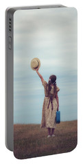 Refugee Girl Portable Battery Charger