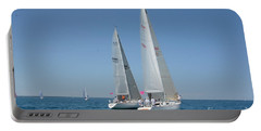Sailboat Race Portable Battery Charger