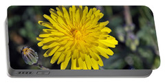 Spring Wild Flower Portable Battery Charger by George Atsametakis