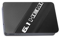 Portable Battery Charger featuring the photograph 6.1 Hemi by John Schneider