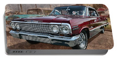 '63 Impala Portable Battery Charger by Victor Montgomery