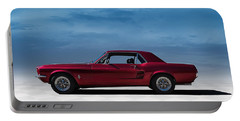 67 Mustang Portable Battery Charger
