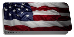 American Flag 52 Portable Battery Charger