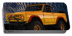 69 Ford Bronco 4x4 Restoration Portable Battery Charger