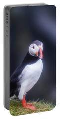 Atlantic Puffin Fratercula Arctica Portable Battery Charger by Panoramic Images