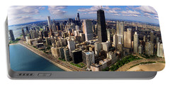 Chicago Il Portable Battery Charger by Panoramic Images