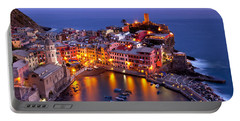 Cinque Terre Portable Battery Charger by Brian Jannsen