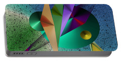 Abstract Bird Of Paradise Portable Battery Charger