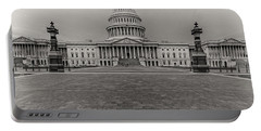 Portable Battery Charger featuring the photograph Capitol Building by Peter Lakomy