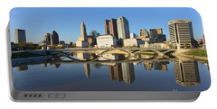 Fx1l-1058 Columbus Ohio Skyline Photo Portable Battery Charger