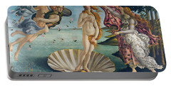 The Birth Of Venus Portable Battery Charger