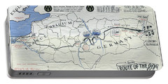89th Infantry Division World War I I Map Portable Battery Charger
