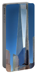 9/11 Memorial Portable Battery Charger by Mariarosa Rockefeller