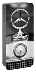 Mercedes-benz Hood Ornament Portable Battery Charger