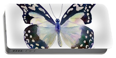 90 Angola White Lady Butterfly Portable Battery Charger