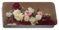 A Basket Of Roses Portable Battery Charger